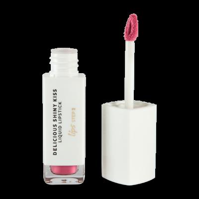 Delicious Shinny Kiss - Liquid Lipstick - Pink
