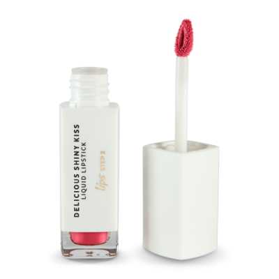 Delicious Shinny Kiss - Liquid Lipstick - Rouge