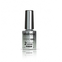 Hybrid gel fushion-shine top coat top coat cu aplicare fara lampa, 10,5ml